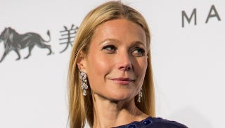 Illustration for article titled Goops! Gwyneth Breaks 'Food Bank Challenge' With a Fancy Dinner in LA