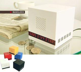 Illustration for article titled Money-Grubbing BanClock Alarm Demands Cash to STFU