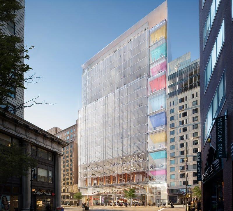 Union Square Tech Hub Mockup via NYC Mayor's Office