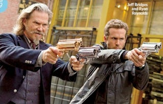 Illustration for article titled Check out Jeff Bridges and Ryan Reynolds as undead cops in RIPD