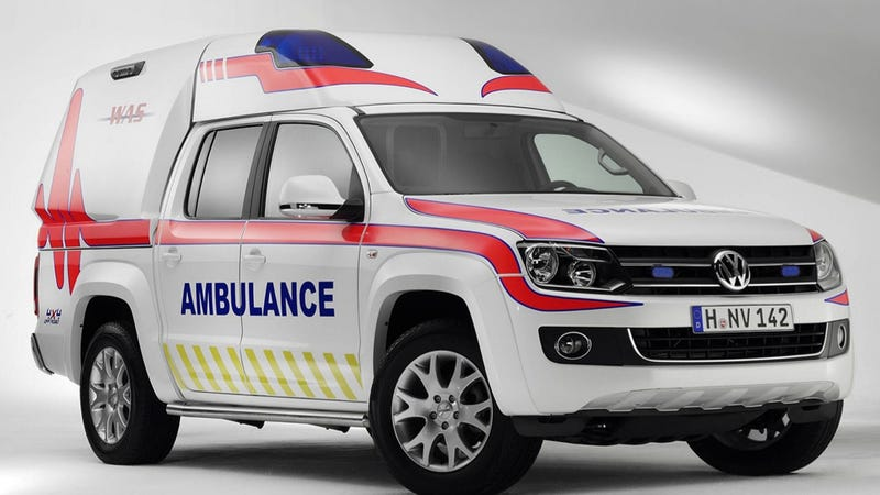 Illustration for article titled The Coolest Off-Road Ambulances