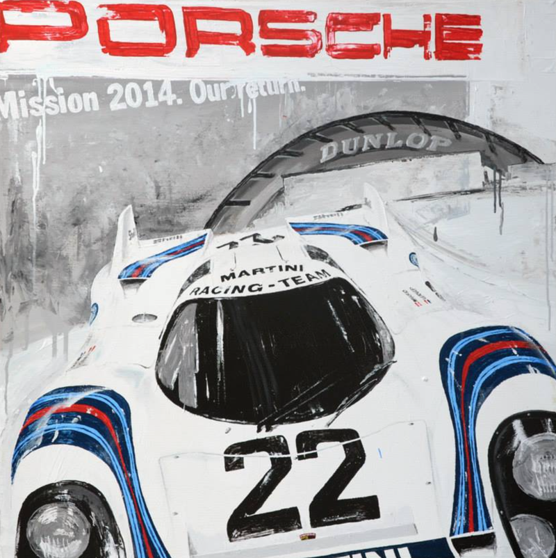 Illustration for article titled Glorious Racing Paintings - How Are These Not On The Home Page??
