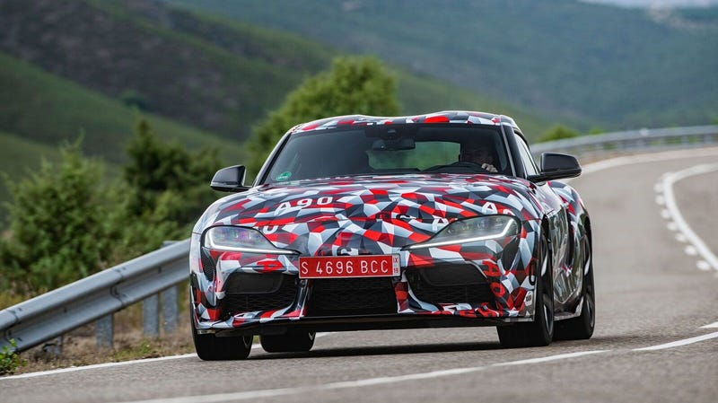 Illustration for article titled The New Toyota Supra Will Finally Debut in Detroit: Our Long National Nightmare Will Soon Be Over