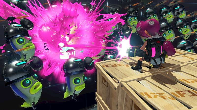 Illustration for article titled Splatoon 2's Octo Expansion Gets Surprisingly Dark
