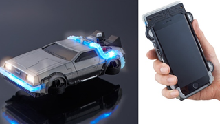Illustration for article titled Bandai Want To Turn Your iPhone Into A Delorean