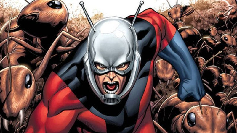 Illustration for article titled Marvel's Kevin Feige weighs in on Ant-Man / Edgar Wright split