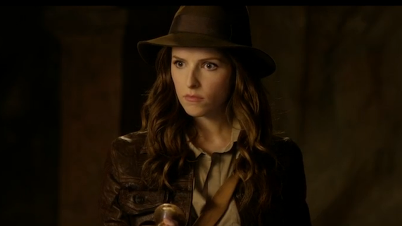 Illustration for article titled Anna Kendrick Is Your New Indiana Jones (Temporarily)