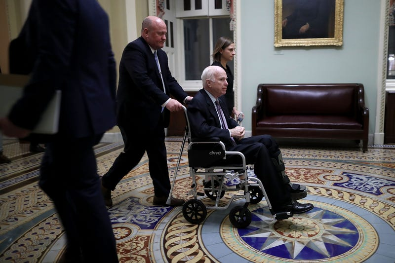 Illustration for article titled 'He's Dying Anyway':White House Aide's Crass 'Joke' About Sen. John McCain