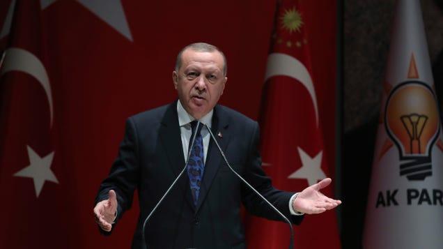 Turkish Court Throws Out Erdogan's Wikipedia Ban