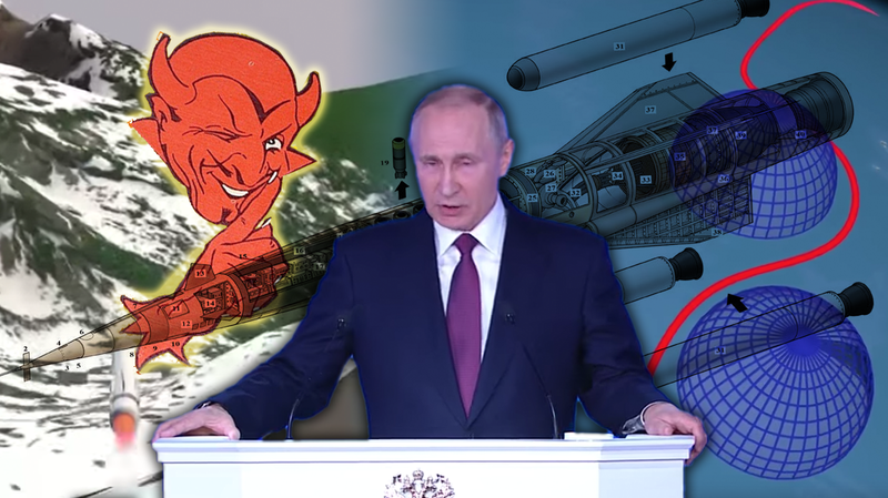 Illustration for article titled Putin's Nuclear-Powered Cruise Missile Is A Rehash Of A Doomsday Device Too Nuts To Build