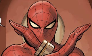 Illustration for article titled Spider-Man's Giant Robot Just Became Official Marvel Comics Canon