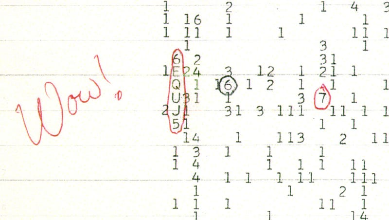 Illustration for article titled Mysterious Wow! Signal Came From Comets, Not Aliens, Claims Scientist
