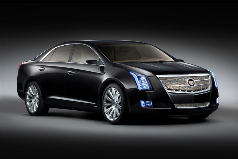 Illustration for article titled Cadillac XTS Platinum Concept: Press Photos