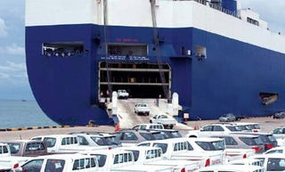 Illustration for article titled Toyota Now Renting Shipping Vessels To Store Unsold Cars