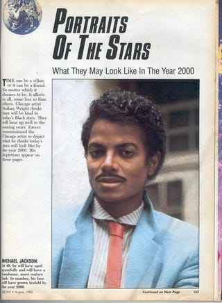 Illustration for article titled Prediction About MJ's Future Appearance Could Not Have Been More Wrong