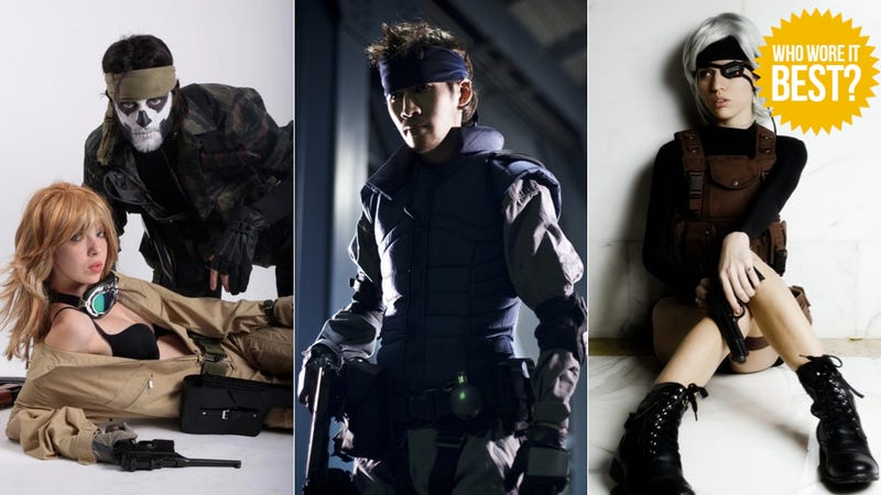Illustration for article titled Metal Gear Cosplay... It Can't Be!