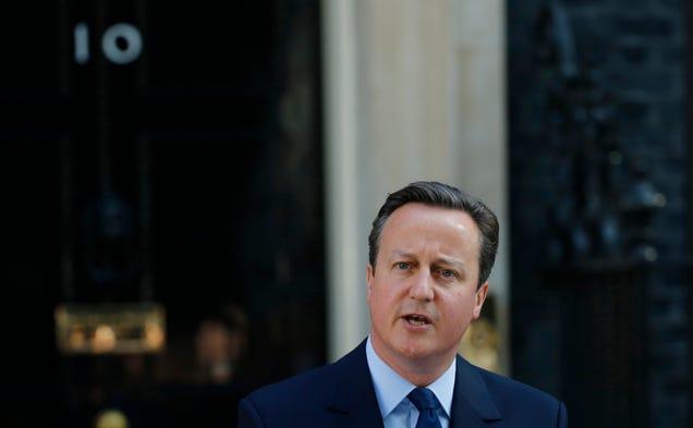 David Cameron Resigns Following Brexit Vote