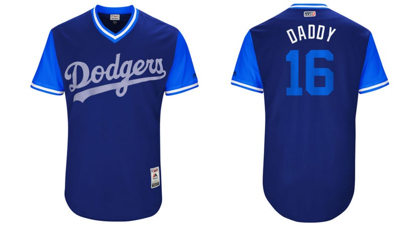 Illustration for article titled MLB Rolls Out Cool New Nickname Jerseys For Everyone But Women