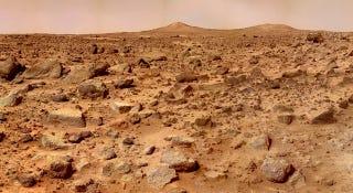 Illustration for article titled Proponen utilizar misiles para buscar vida subterránea en Marte