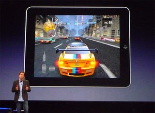 Illustration for article titled EA Plays Need For Speed On The iPad