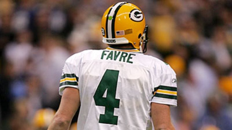 Illustration for article titled Mathematics To Retire Favre's Number