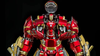 Illustration for article titled Finally, A Hulkbuster Toy That Can Fit An Iron Man Figure Inside Itself