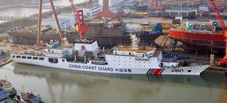 """Illustration for article titled Why China Is Building The World's Largest """"Coast Guard"""" Cutter"""