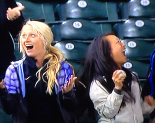 Illustration for article titled These Women Are So Damn Excited To Get A Foul Ball
