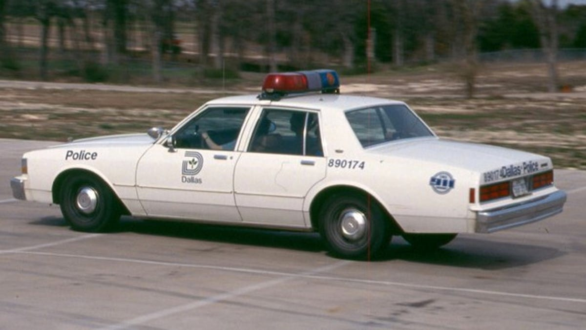 85 years of Dallas Police squad cars