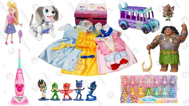Character Toys Gold Box