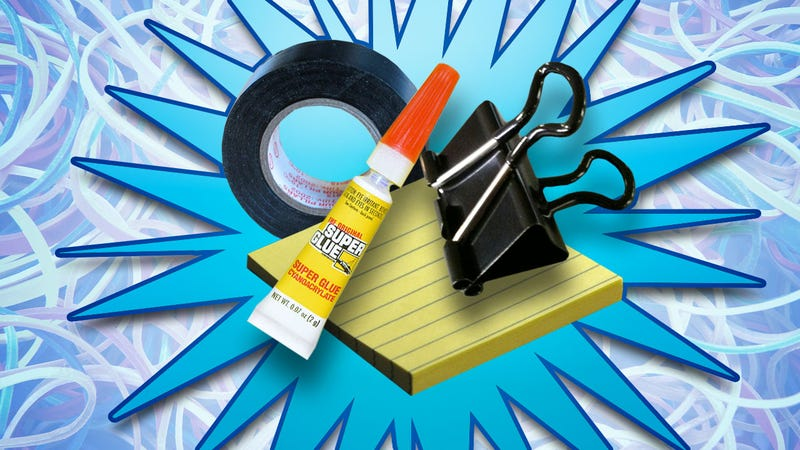 Illustration for article titled The Essential Life Hacking Supplies You Can Get for $1