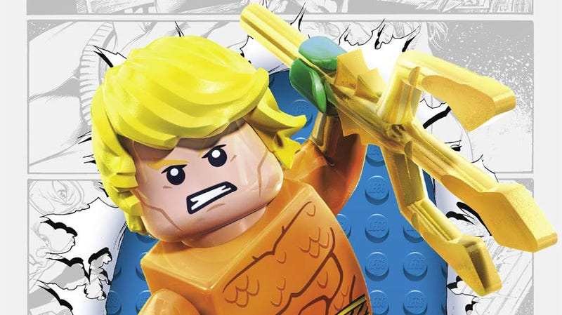 Illustration for article titled Week four of DC Comics Lego variant covers