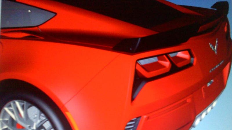 Illustration for article titled 2014 Chevrolet Corvette: This Is Its Rear, Again
