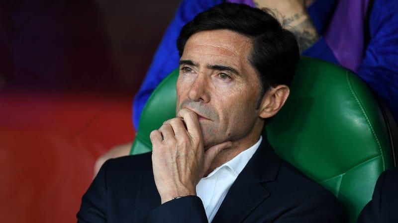 Former Valencia manager Marcelino, who looks like a Spanish Hugh Jackman.