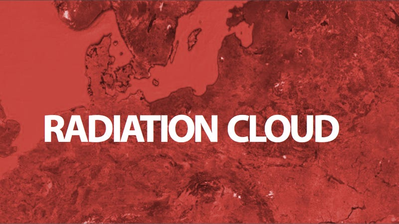 Illustration for article titled Europe's Mysterious Radiation Cloud May Be Coming from Hungary