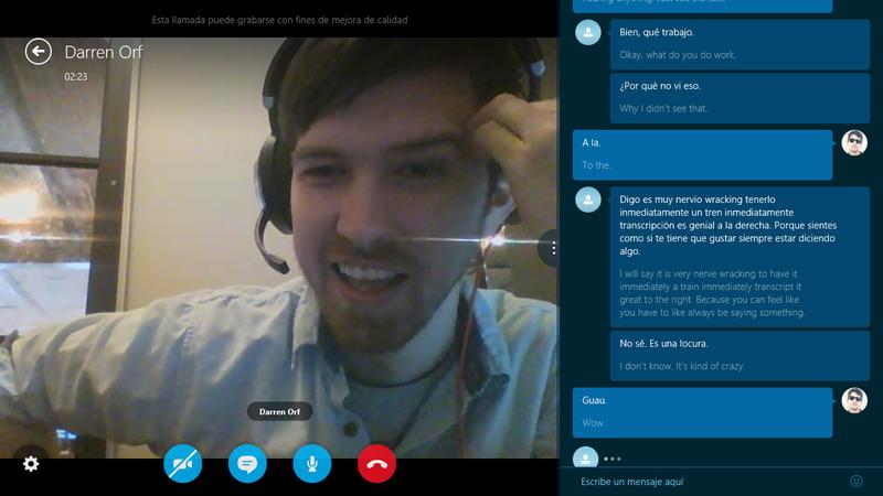 Illustration for article titled Skype Translator Hands-On: Close But No Babel Fish