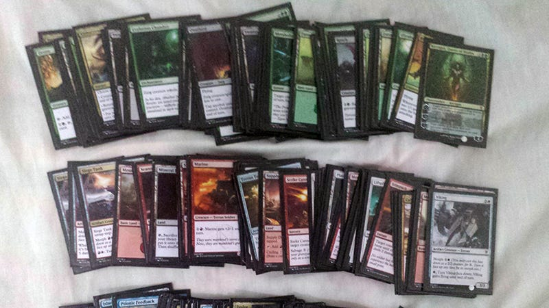 Fans Create Starcraft Themed Magic The Gathering Decks