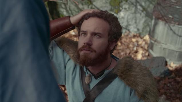viking larper fights ninjas with odin in funny short film