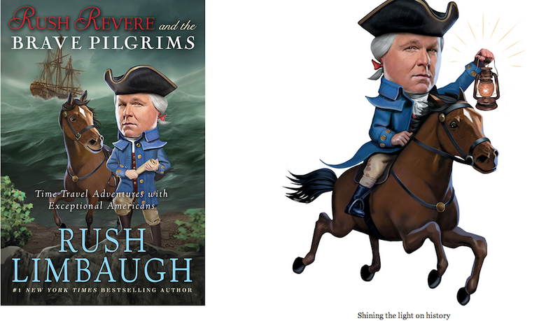 Illustration for article titled 'Kids' Vote to Give Rush Limbaugh a Children's Book Award