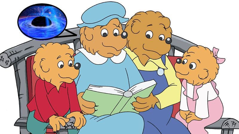 "Illustration for article titled How you spell ""The Berenstain Bears"" could be proof of parallel universes"