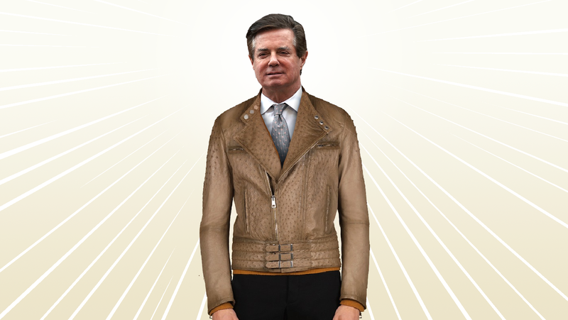 Illustration for article titled Is This Paul Manafort's $15,000 Ostrich Skin Jacket? [Updated]