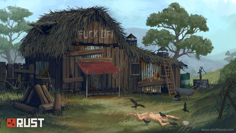 Rust game  Some Fans Pissed At Rust Creators For Working On New Game [UPDATE]