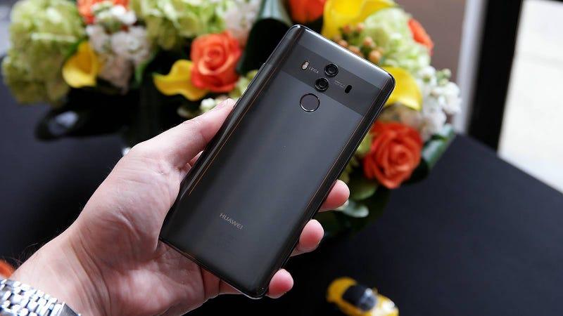 El Huawei Mate 10.
