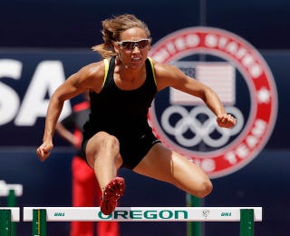 Illustration for article titled Lolo Jones Live-Tweets Getting Drug-Tested During Her Birthday Party