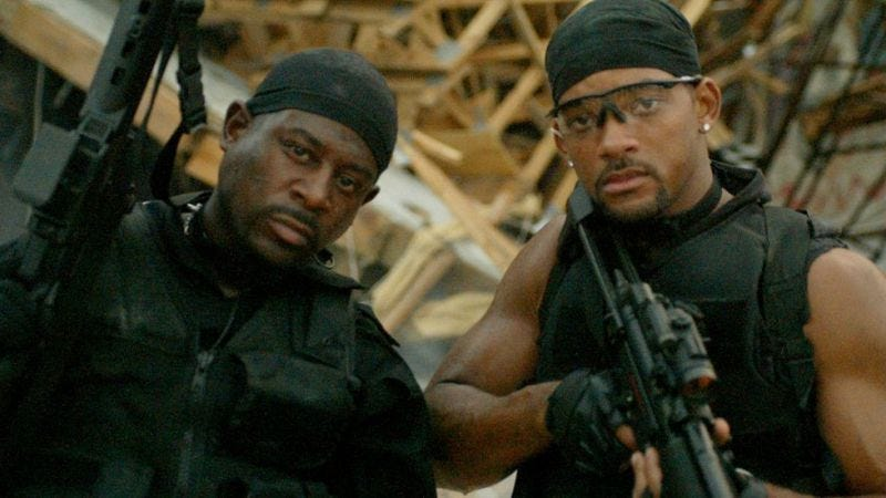 Like this, only somehow even better (Bad Boys II)