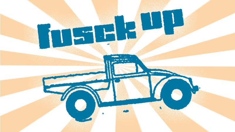 Illustration for article titled The Volkswagen 'Fusck Up' Is The Best/Worst Car Name Ever