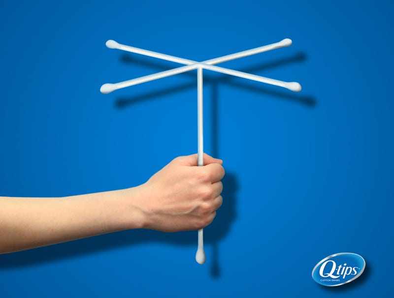 Illustration for article titled Q-Tip Releases New Multi-Pronged Family Swab