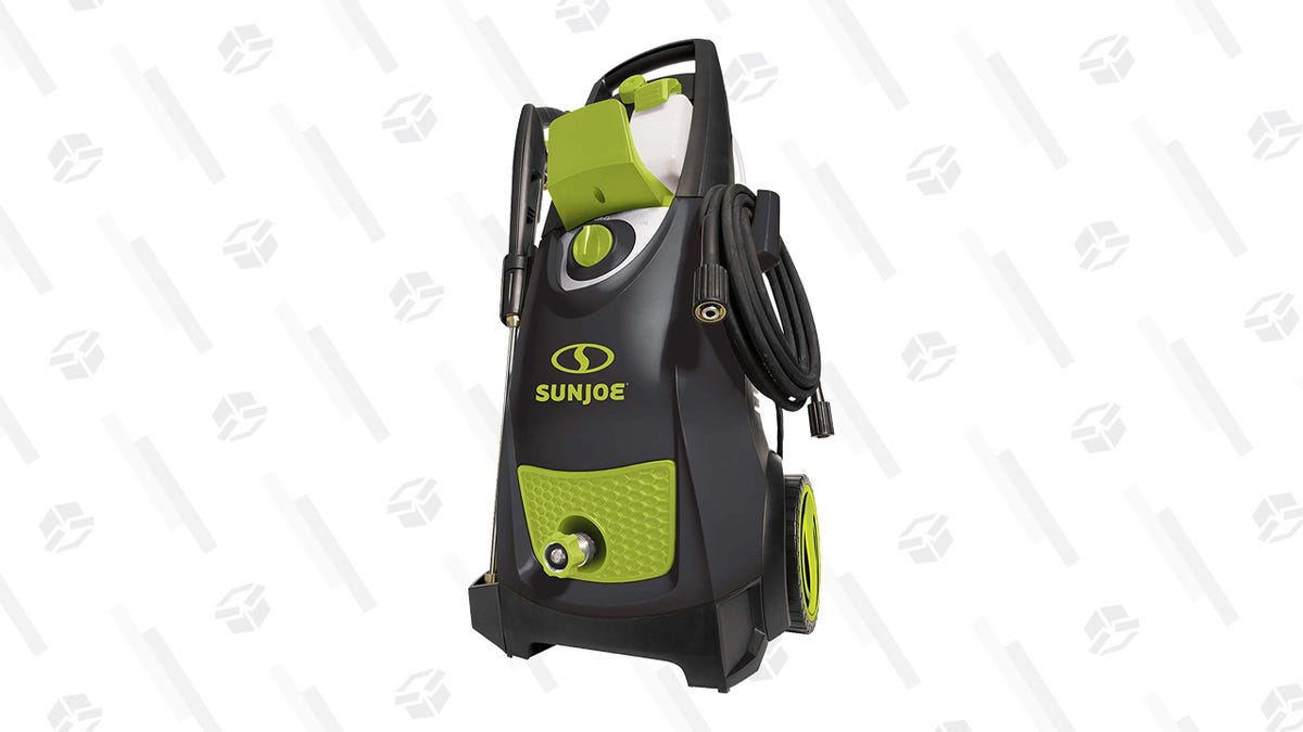 Blast Away Your Regrets, Negative Thoughts, and Accumulated Dirt With This Pressure Washer Gold Box