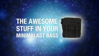 Illustration for article titled What's Inside Your Awesome Minimalist Bags
