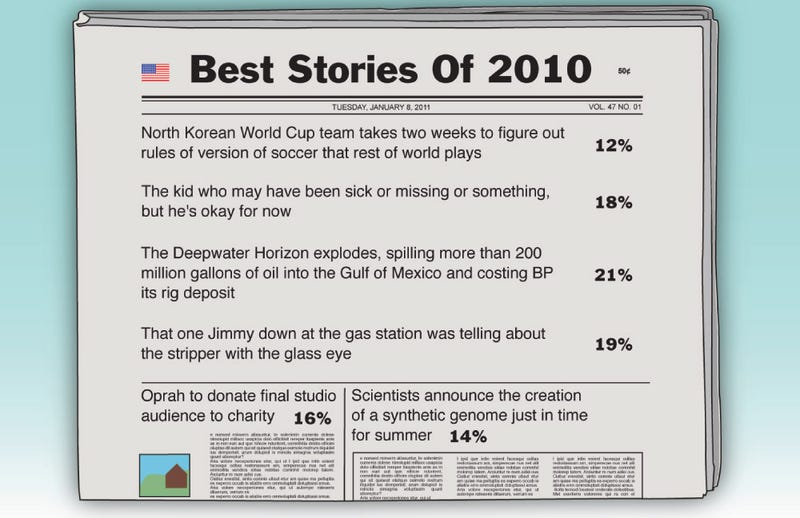 Illustration for article titled Best Stories Of 2010